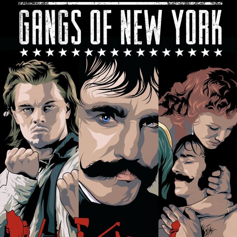 Банды Нью-Йорка 2002 постер фильма