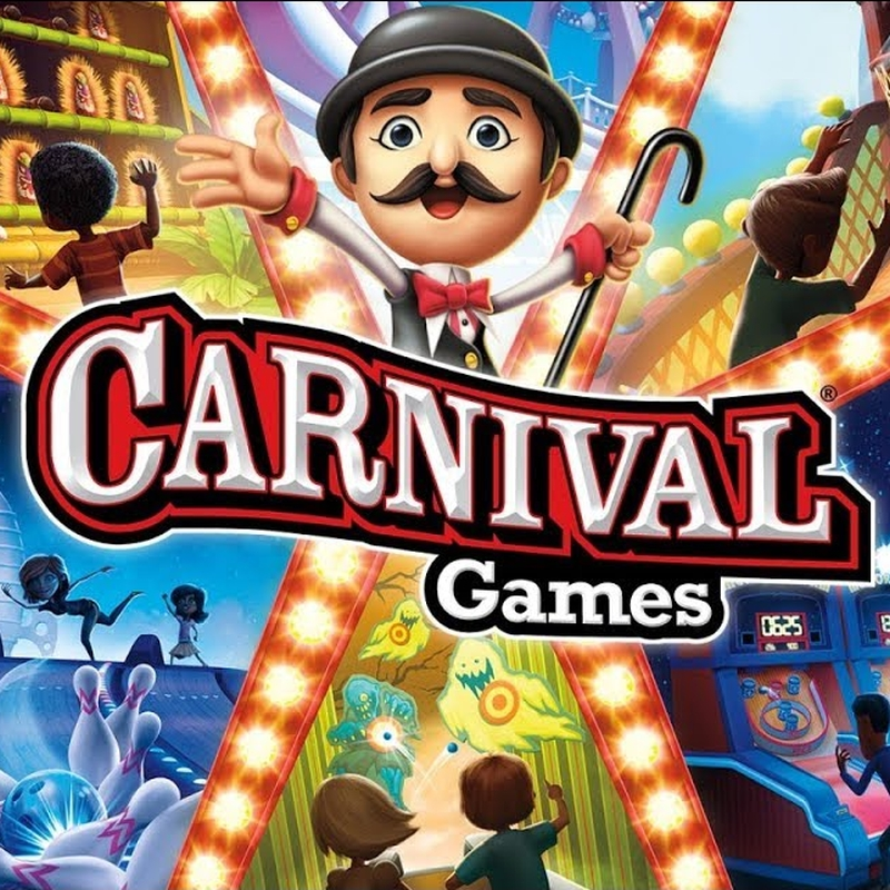 Carnival Games Xbox 360 poster
