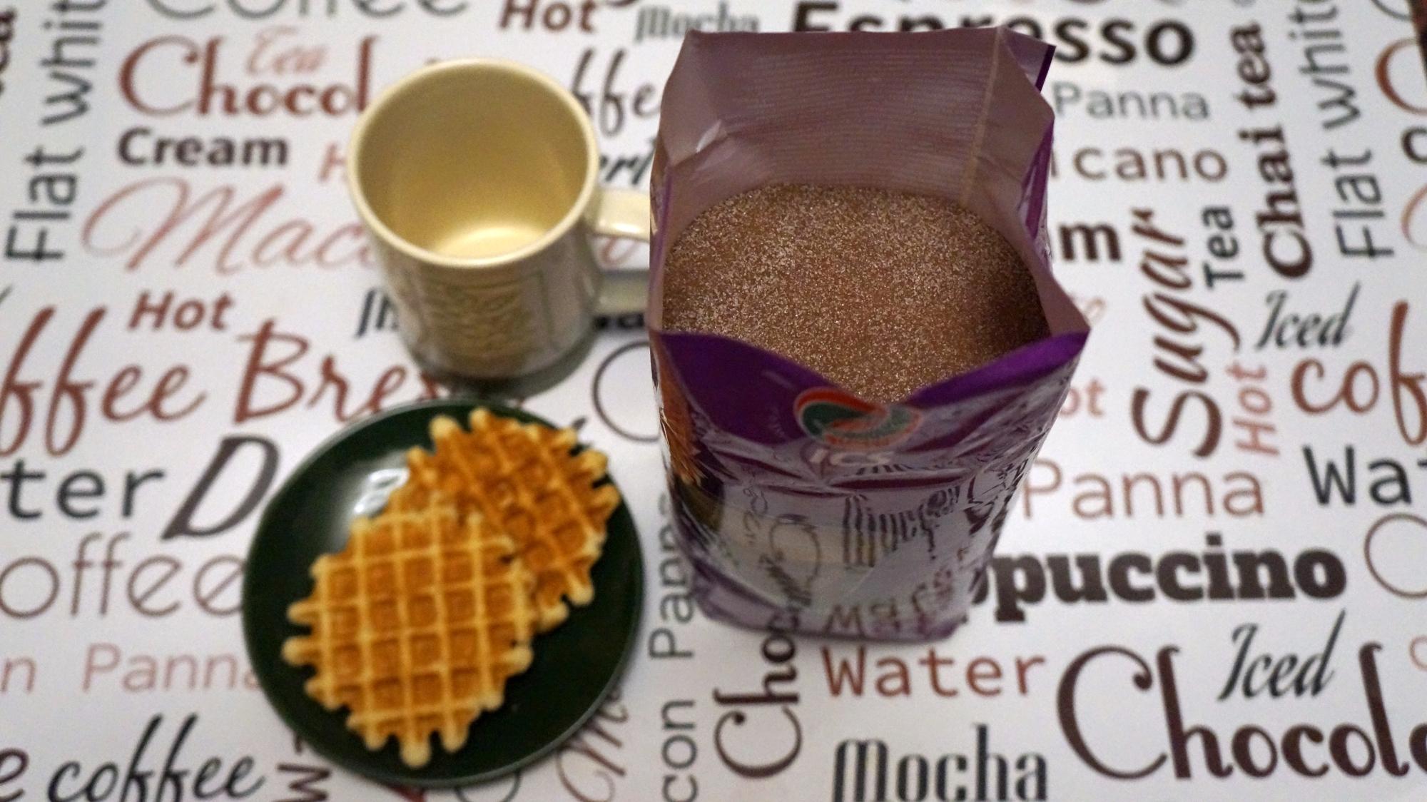 Горячий шоколад ICS Сливочный внешний вид