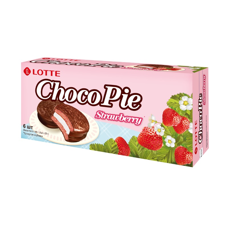 Lotte Choco Pie Strawberry poster