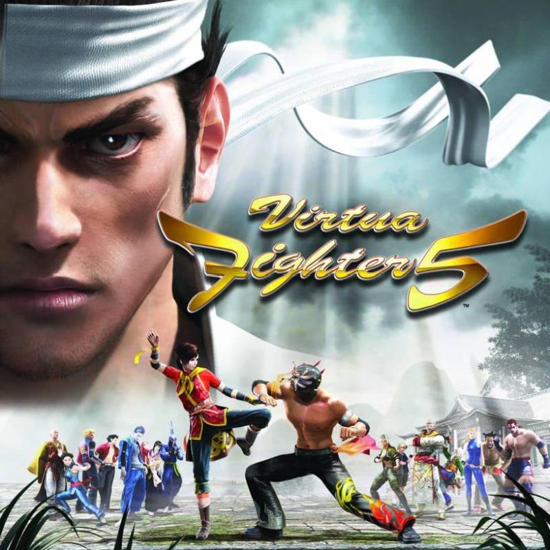 Virtua Fighter 5 poster