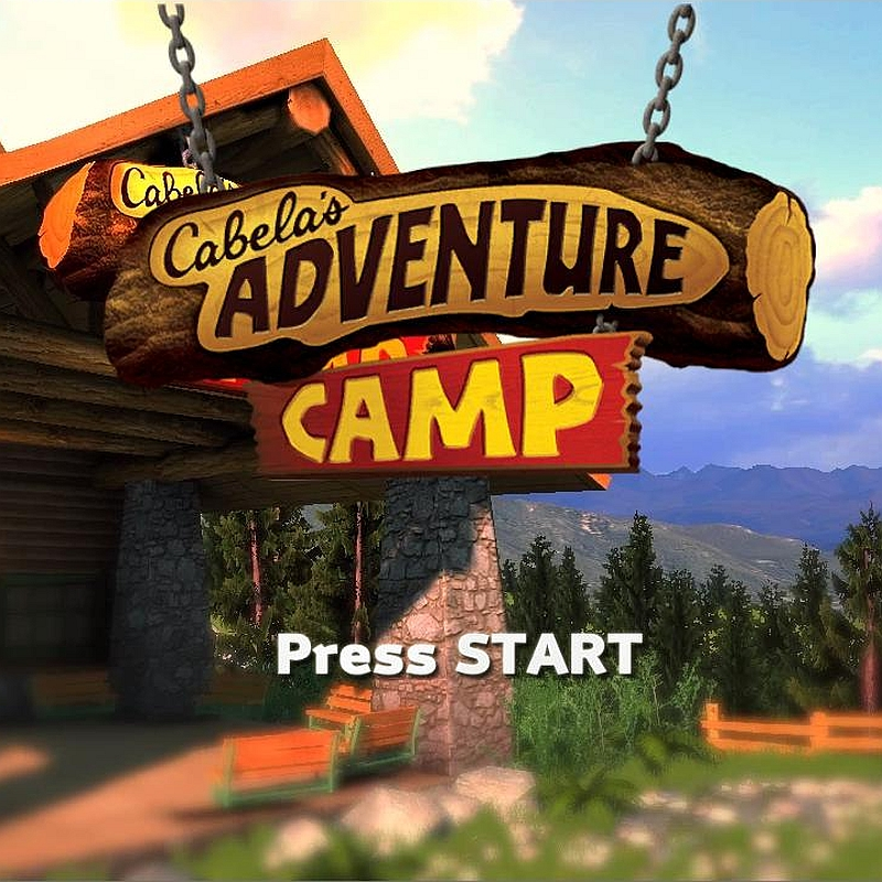 Cabela's Adventure Camp Xbox 360 Kinect poster
