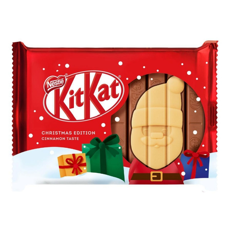 Шоколад KitKat Senses Christmas Edition Cinnamon Taste poster