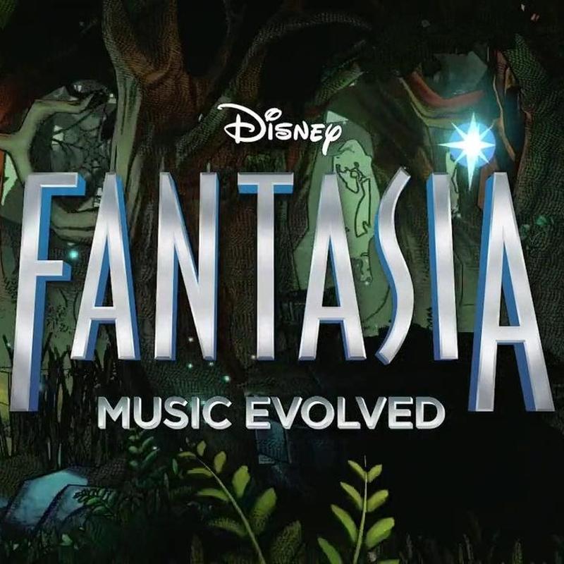 Disney Fantasia Music Evolved Xbox 360 Kinect poster