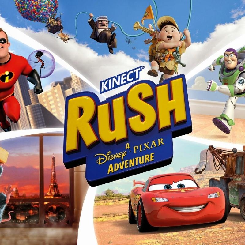 Kinect Rush: A Disney - Pixar Adventure Xbox 360 Kinect poster