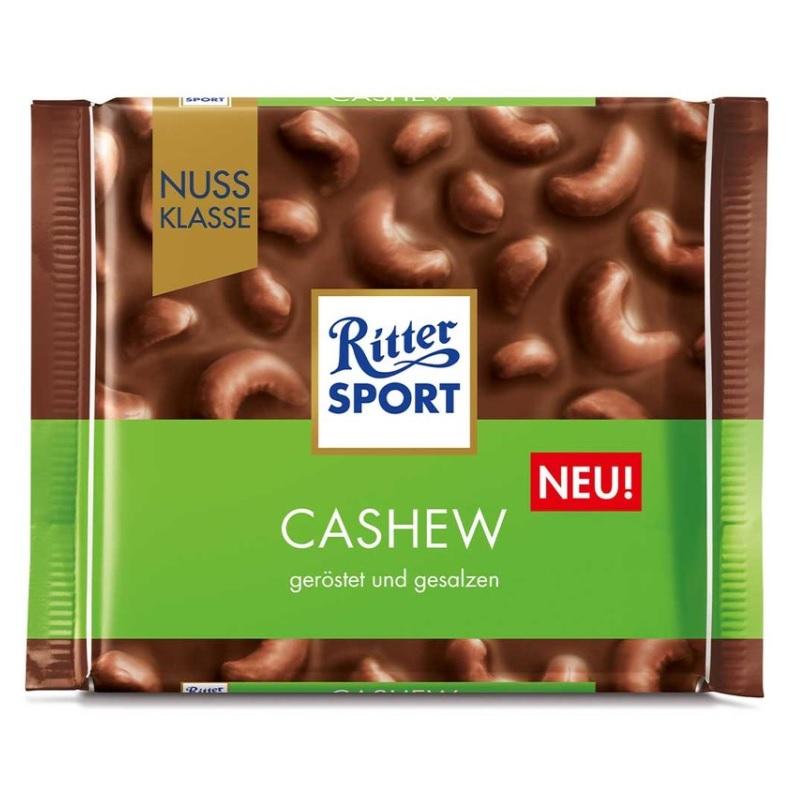 Шоколад Ritter Sport Cashew poster