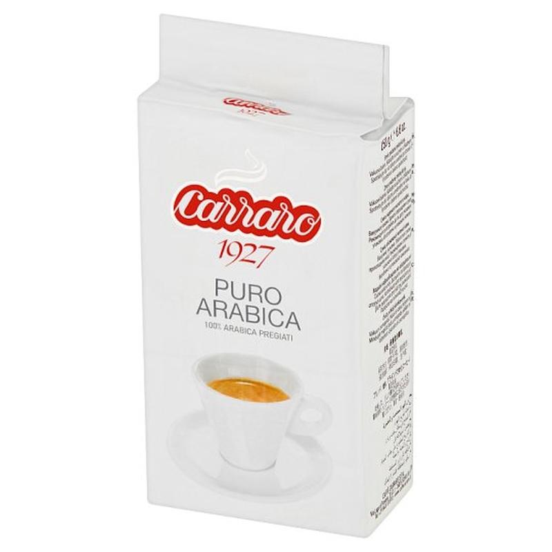 Кофе молотый Carraro Puro Arabica poster