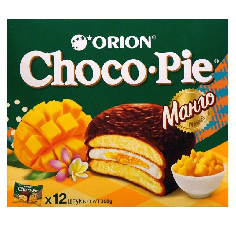 Печенье Orion «ChocoPie Манго» poster
