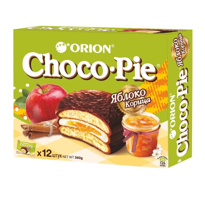 Печенье Orion ChocoPie Яблоко Корица poster