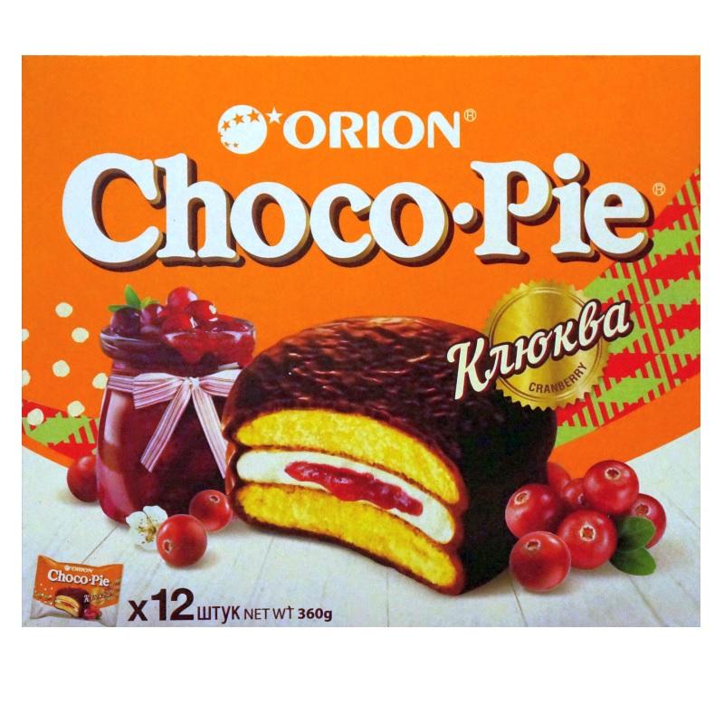Печенье Orion «ChocoPie Клюква» poster
