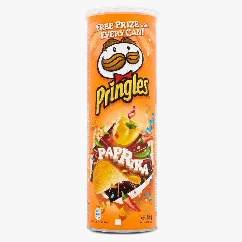 Чипсы Pringles Paprika постер