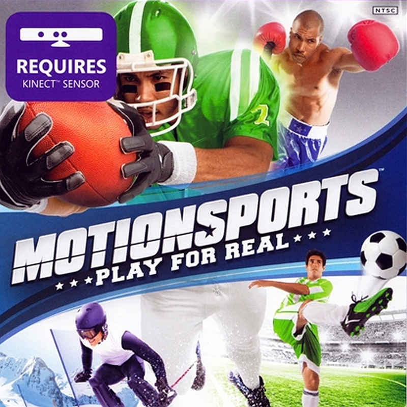 «Motionsports» (Xbox 360) Kinect poster