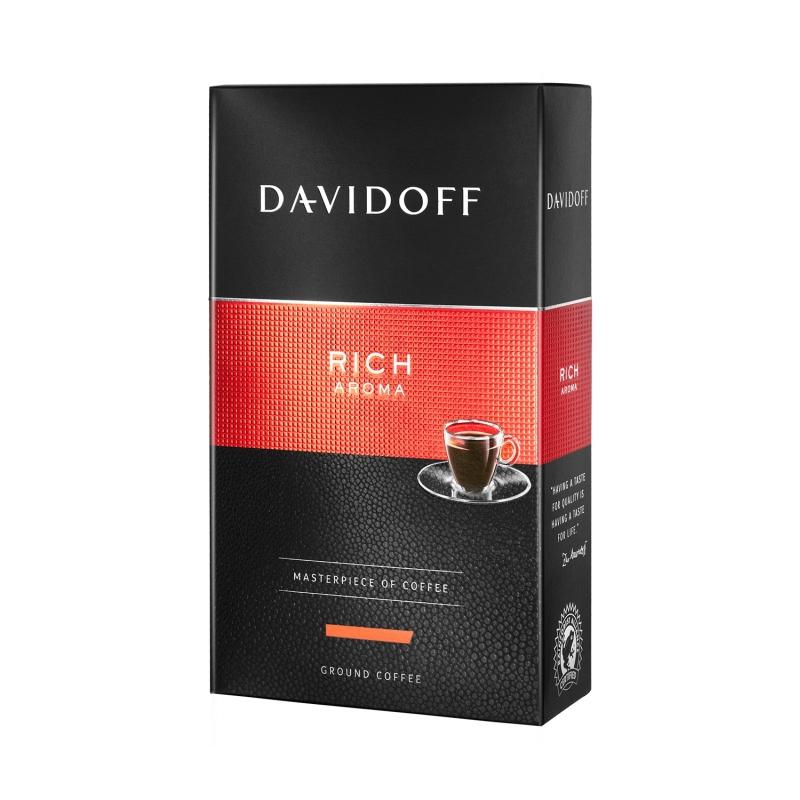 Кофе молотый Davidoff «Rich Aroma» poster