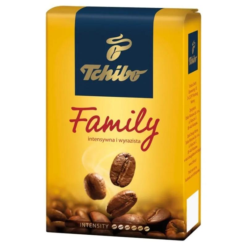 офе молотый Tchibo «Family» постер