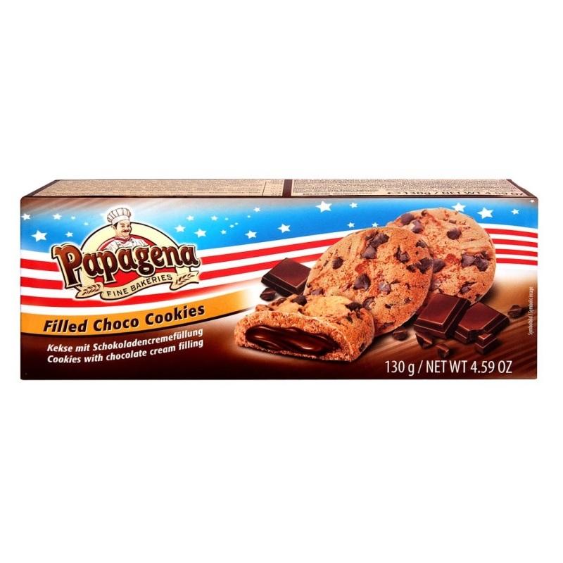 Печенье Papagena «Filled Choco Cookies» poster