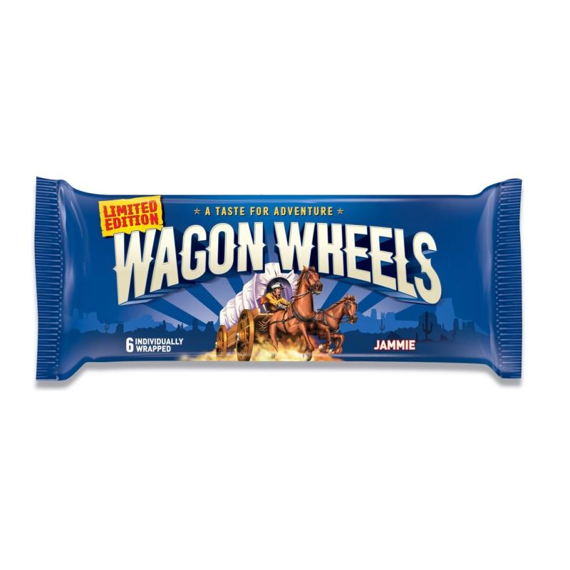 Печенье Wagon Wheels «Jammie» постер