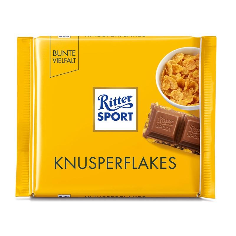 Шоколад Ritter Sport «Knusperflakes» poster