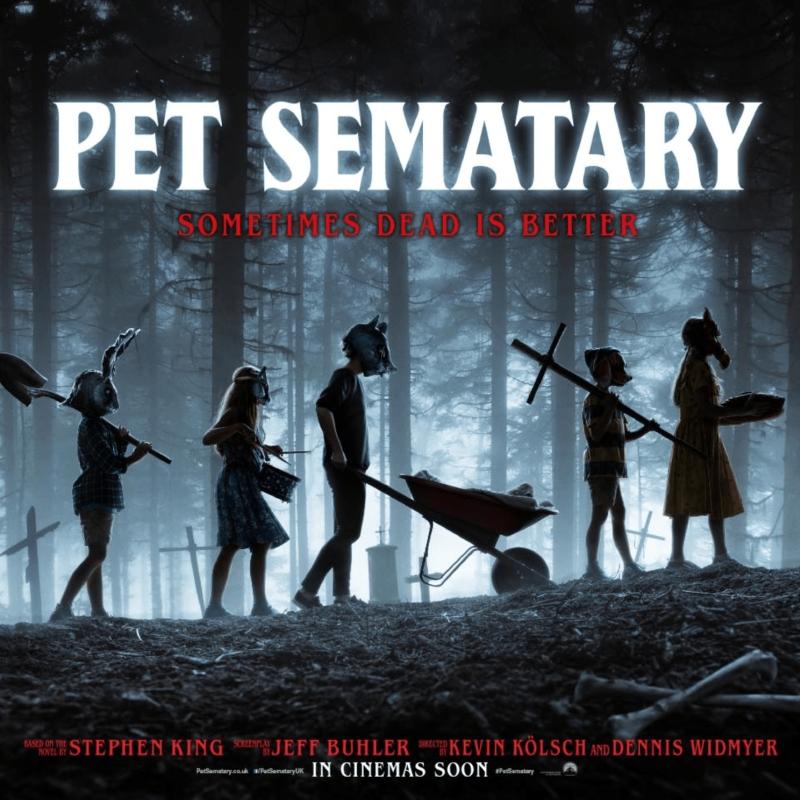 «Кладбище домашних животных» (2019) poster
