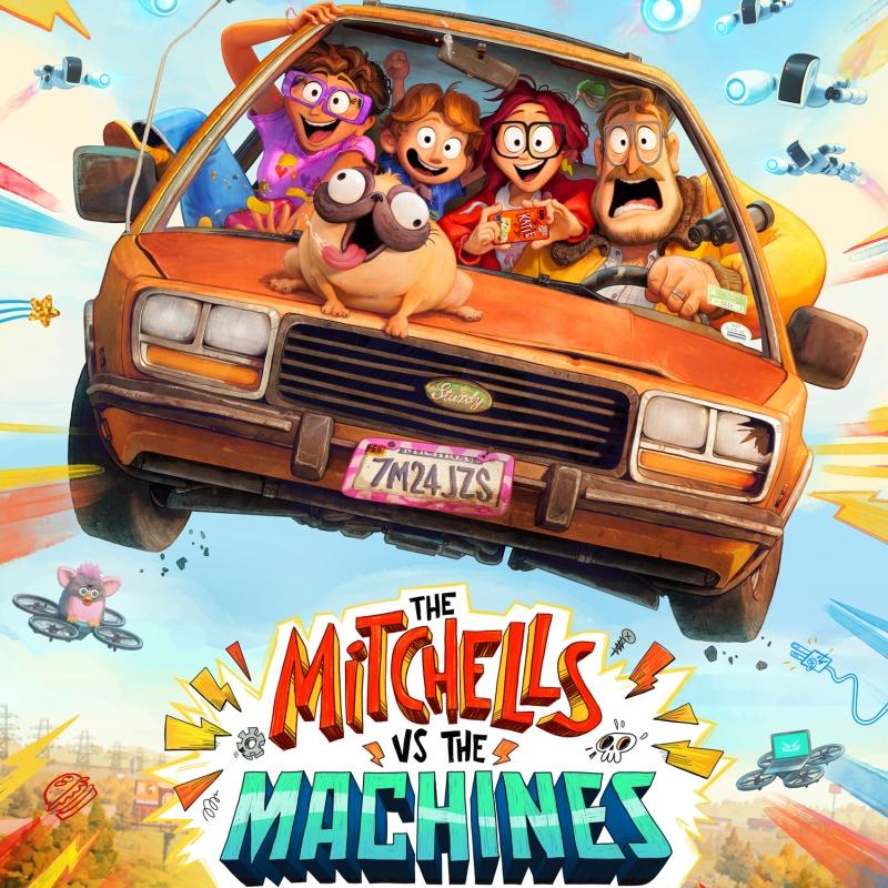 «Митчеллы против машин» (2021) poster