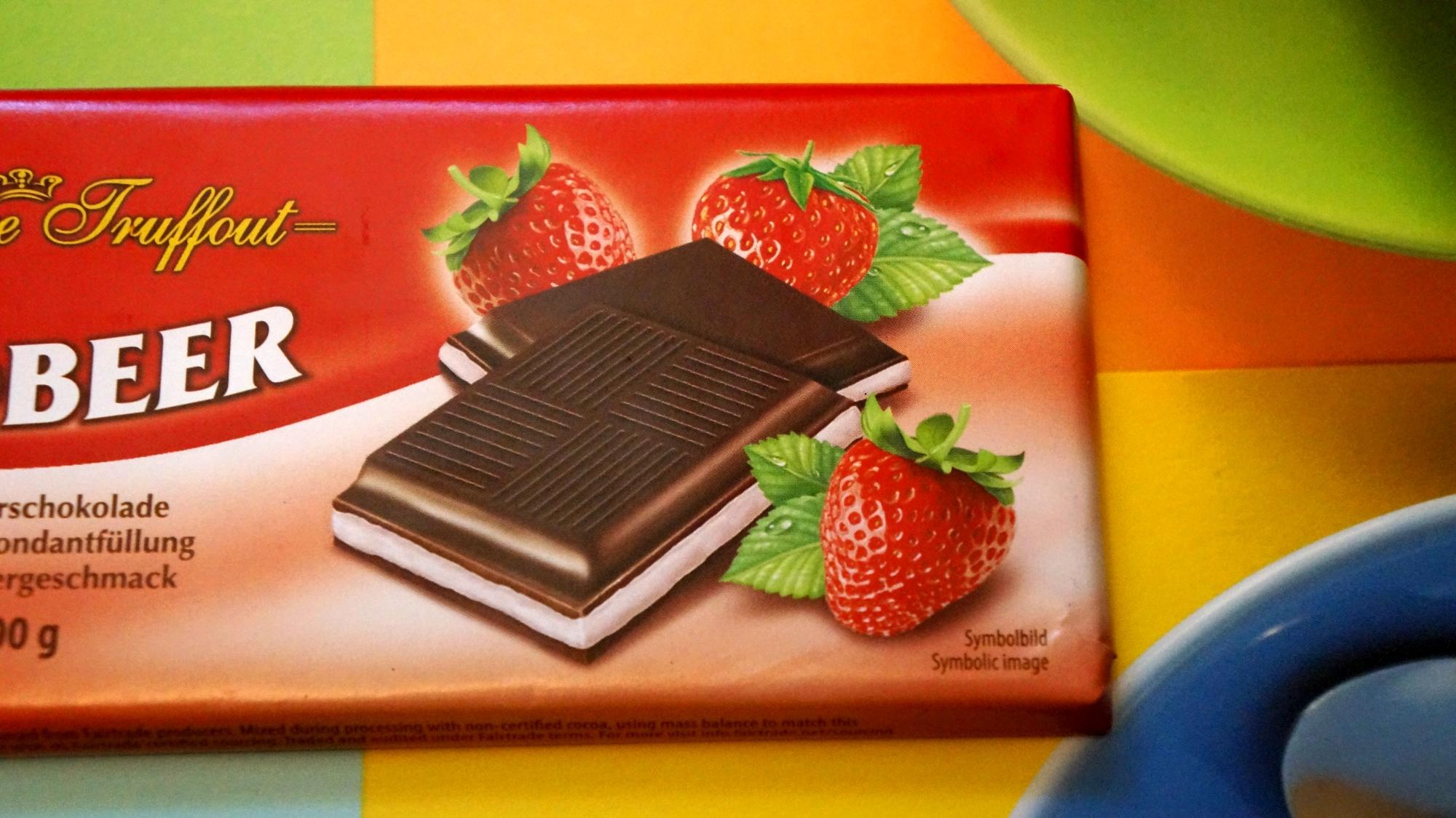 Шоколад Maitre Truffout Erdbeer