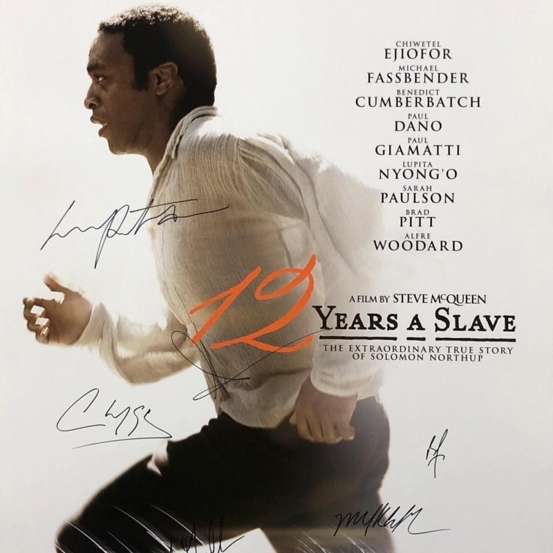 «12 лет рабства» (2013) poster