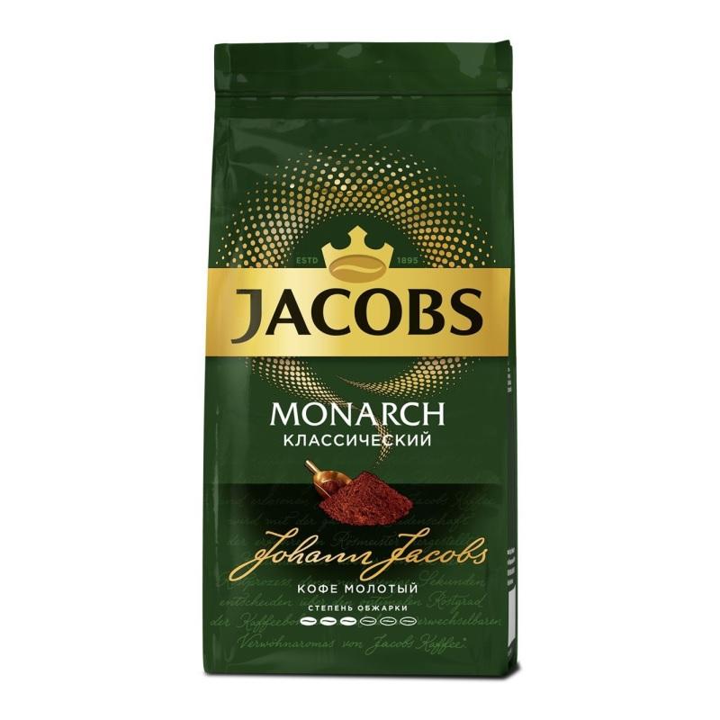 Кофе молотый Jacobs «Monarch Классический» poster