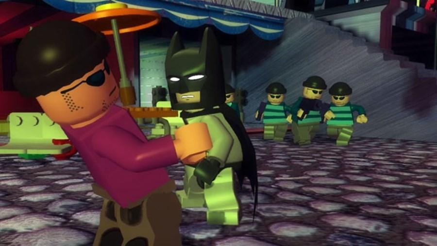 Скриншот из игры LEGO Batman: The Videogame