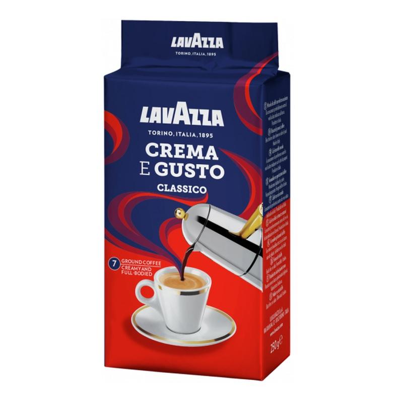 Кофе молотый Lavazza «Crema E Gusto Classico» poster