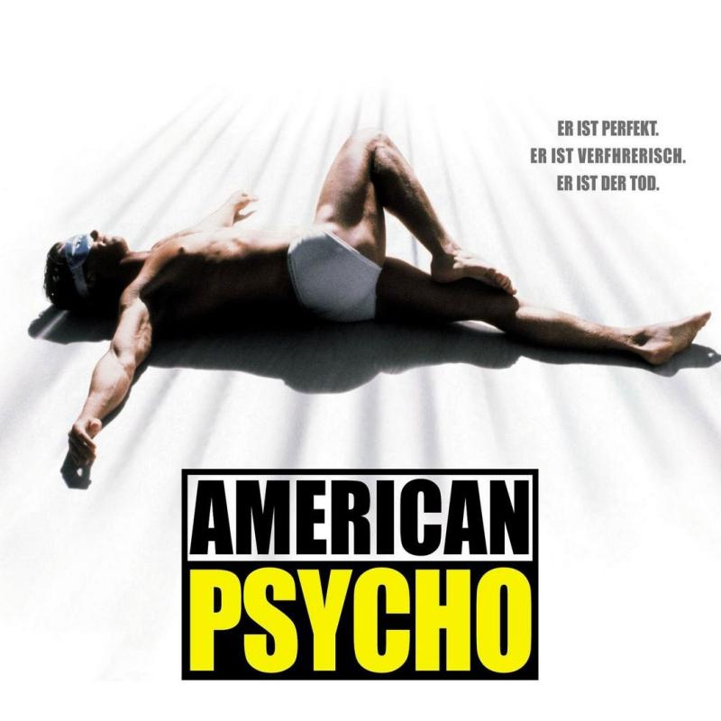 «Американский психопат» (2000) poster