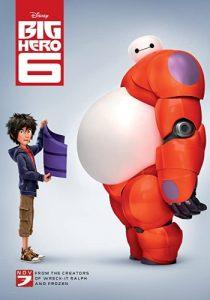 Big Hero 6 (2014) постер
