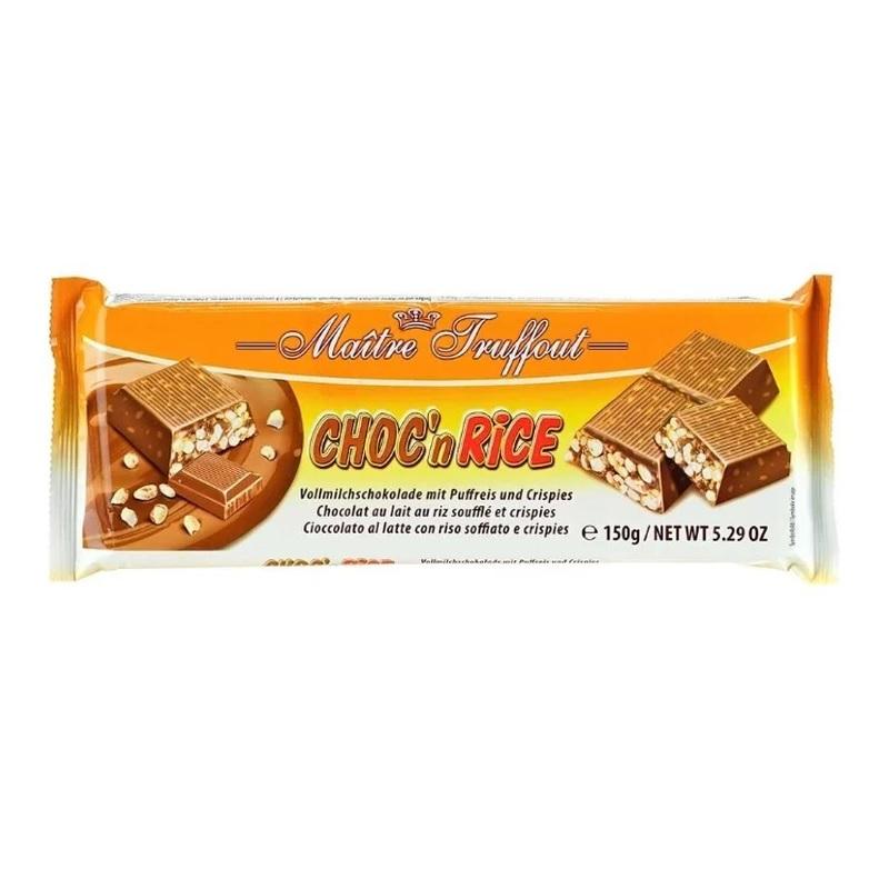 Шоколад Maitre Truffout «Choc`n Rice» poster