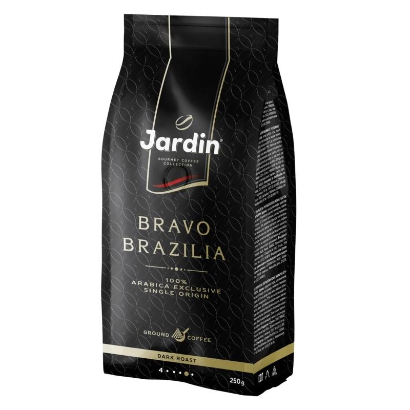 Кофе молотый Jardin «Bravo Brazilia» poster