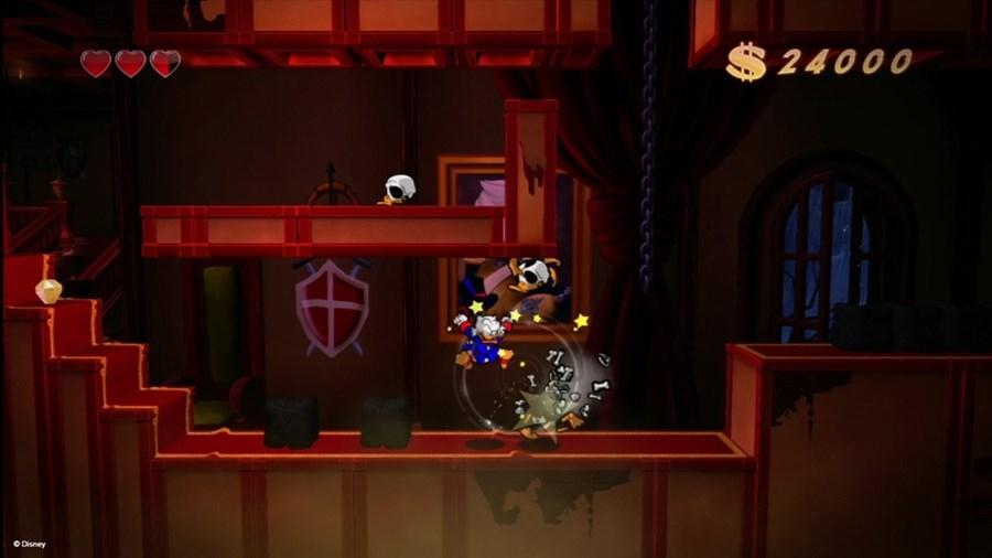 Скриншот из игры DuckTales: Remastered