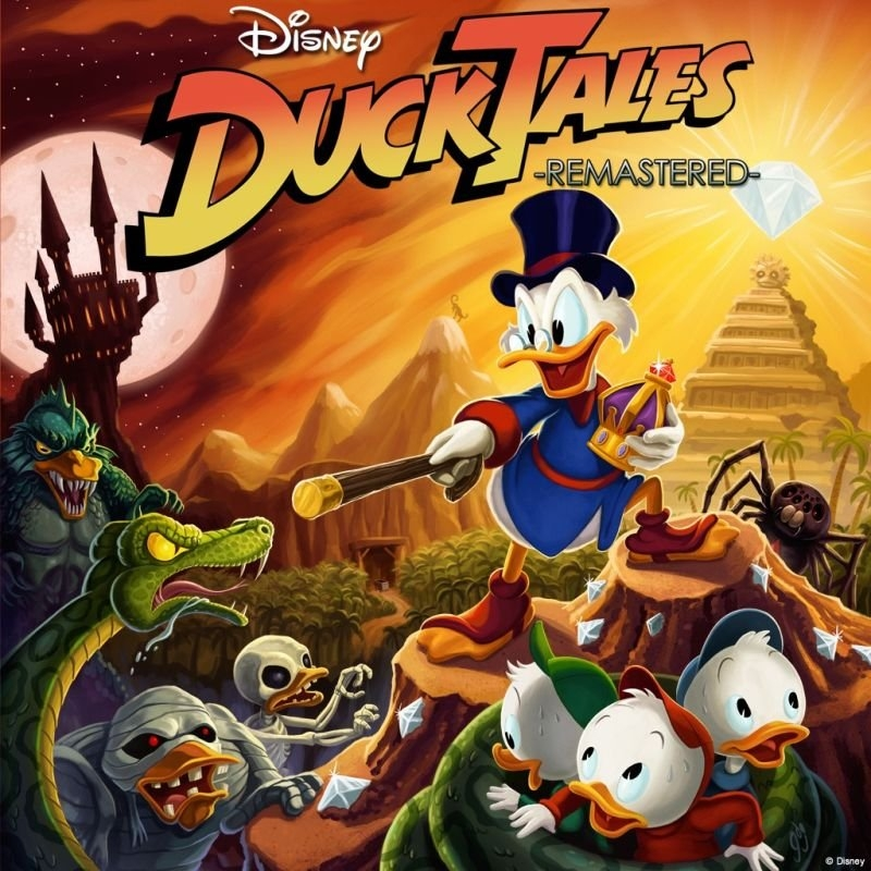 «DuckTales: Remastered» (Xbox 360) poster