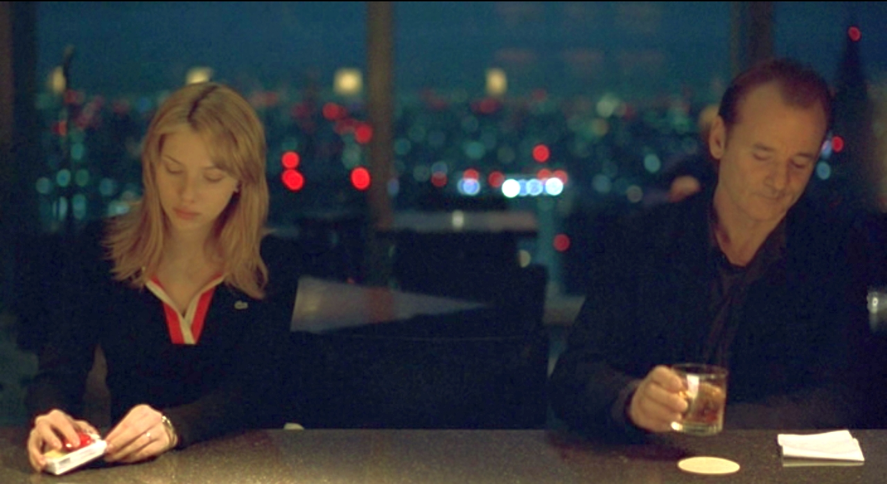Кадр из фильма Lost in Translation (2003)