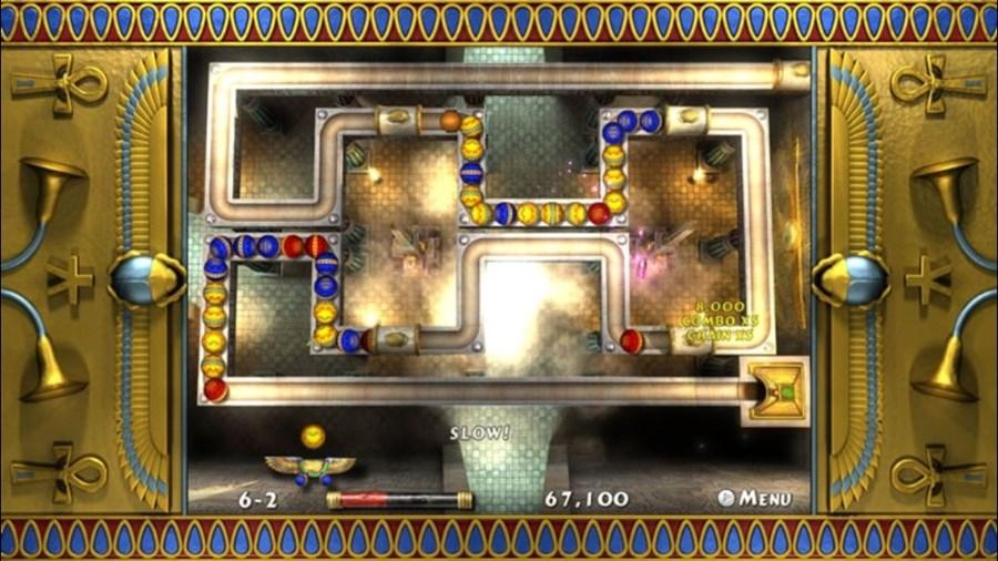 Скриншот из игры Luxor 2