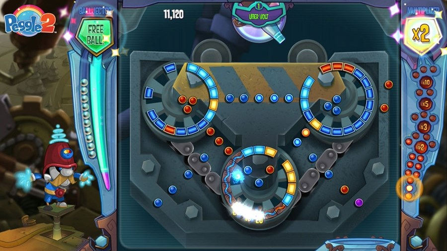 Скриншот из игры Peggle 2