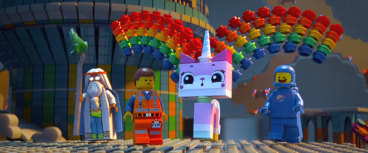Кадр из мультфильма The Lego Movie (2014)