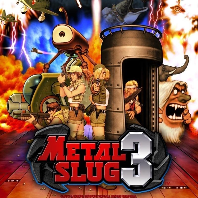 «Metal Slug 3» (Xbox 360) poster