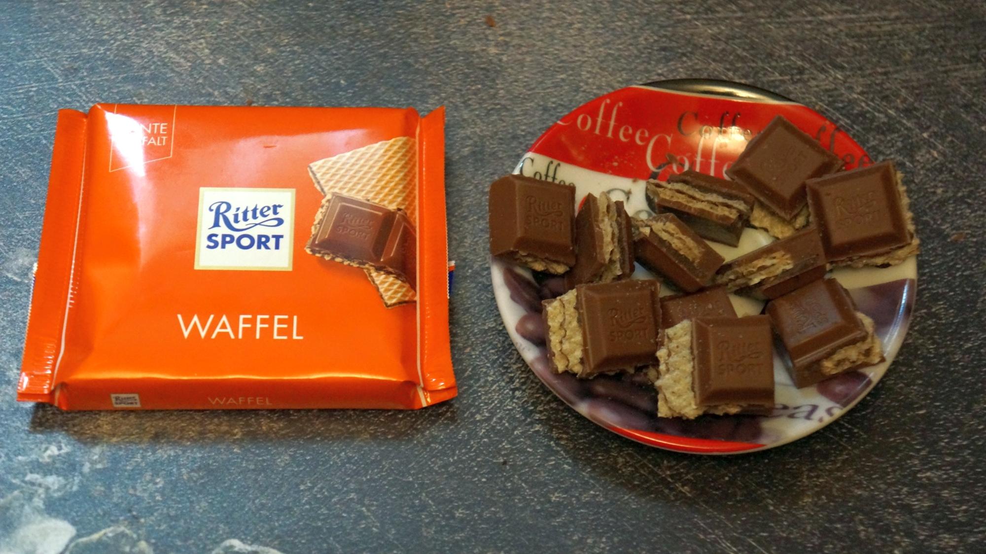 Шоколад Ritter Sport Waffel