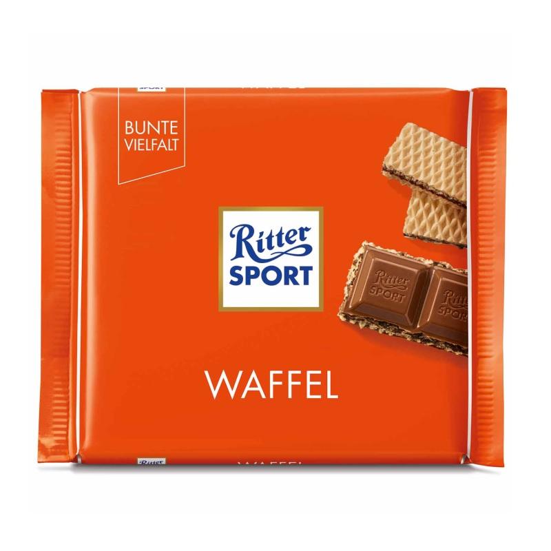 Шоколад Ritter Sport «Waffel» poster