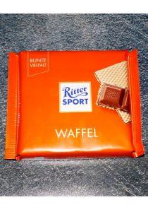 Шоколад Ritter Sport Waffel постер