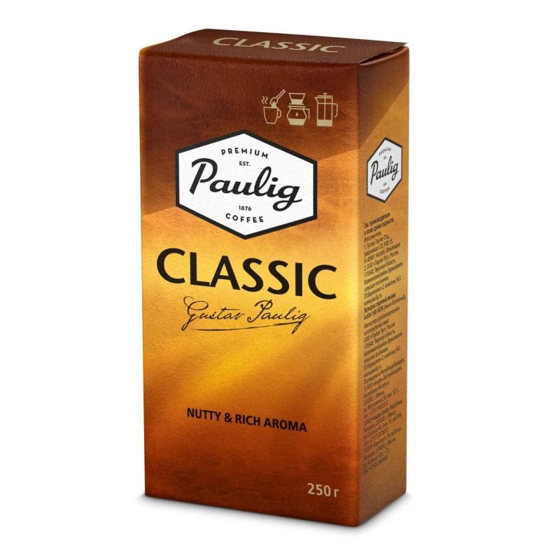 Кофе молотый Paulig «Classic» poster