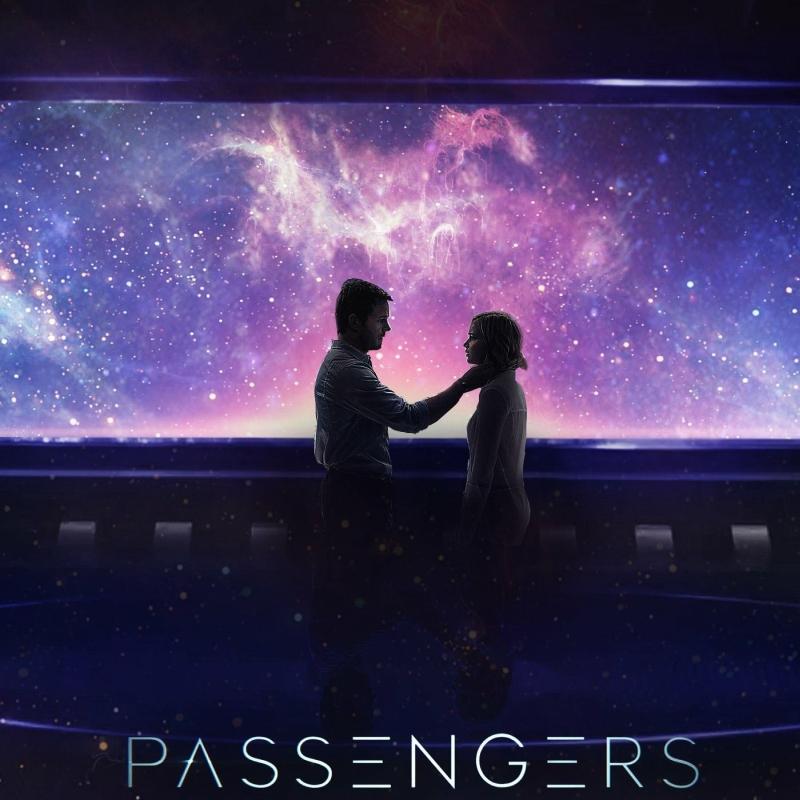 «Пассажиры» (2016) poster